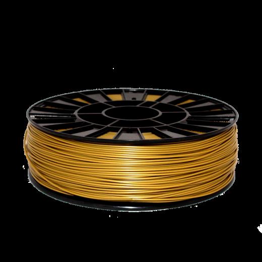 PLA пластик для 3D принтера 750 г Золотой–2.85мм