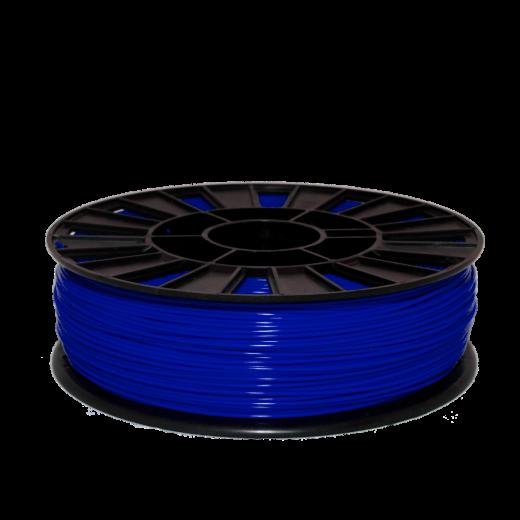 PLA пластик для 3D принтера 750 г Синий 1.75мм