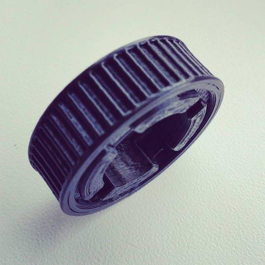 PETG пластик для 3D принтера 750 г Черный–2.85мм.