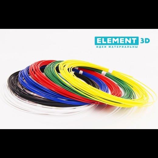 Набор пластика 6 цветов для 3D ручки PLA – 1.75мм