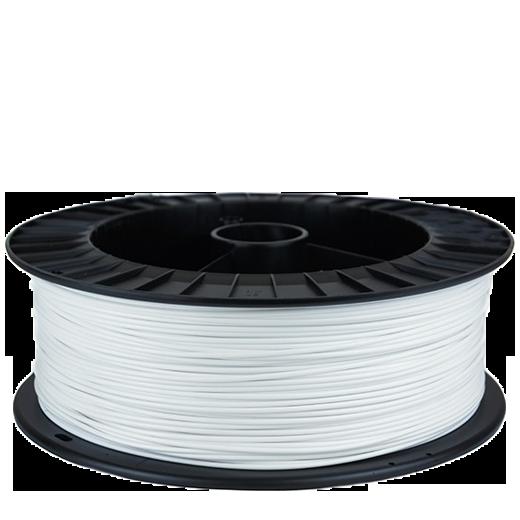 PLA пластик для 3D принтера 2000 г Белый 1.75мм