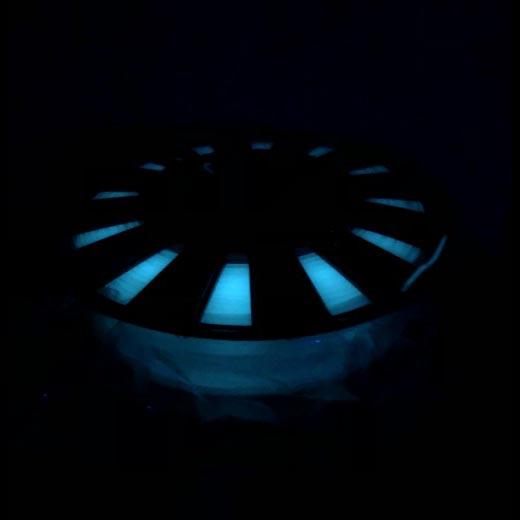 ABS пластик для 3D принтера 500 г Люминесцентный Голубой 1.75мм
