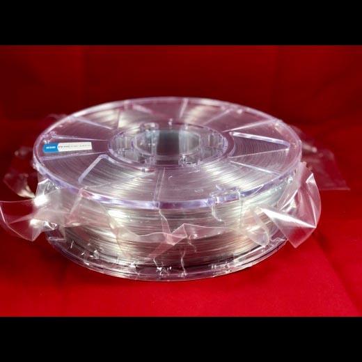 PETG пластик ELEMENT для 3D принтера 1000 г  Натуральный прозрачный 1.75мм