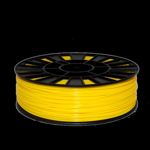 PLA пластик для 3D принтера 750 г Желтый – 2.85мм
