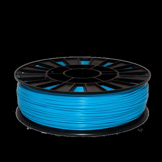 PLA пластик для 3D принтера 750 г Голубой 2.85мм