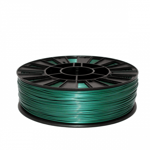 Пруток для 3D печати PLA 750 г Зеленый металлик–2.85мм