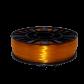 PETG пластик для 3D принтера 750 г Оранжевый прозрачный–2.85мм
